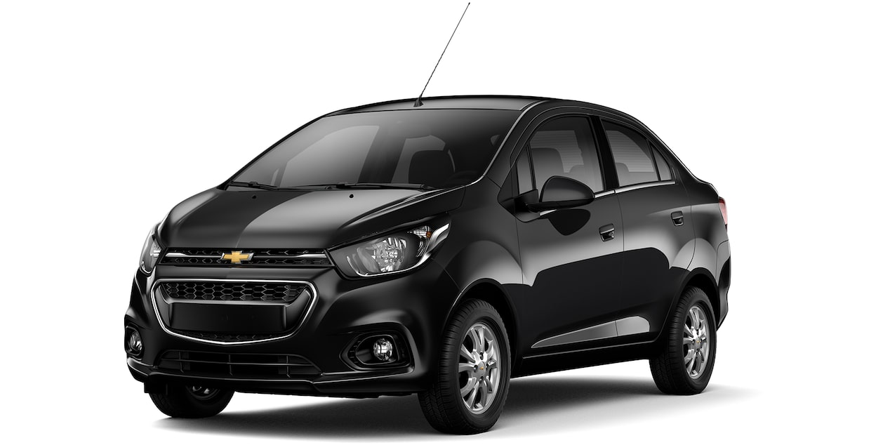 Chevrolet Beat Notchback color negro