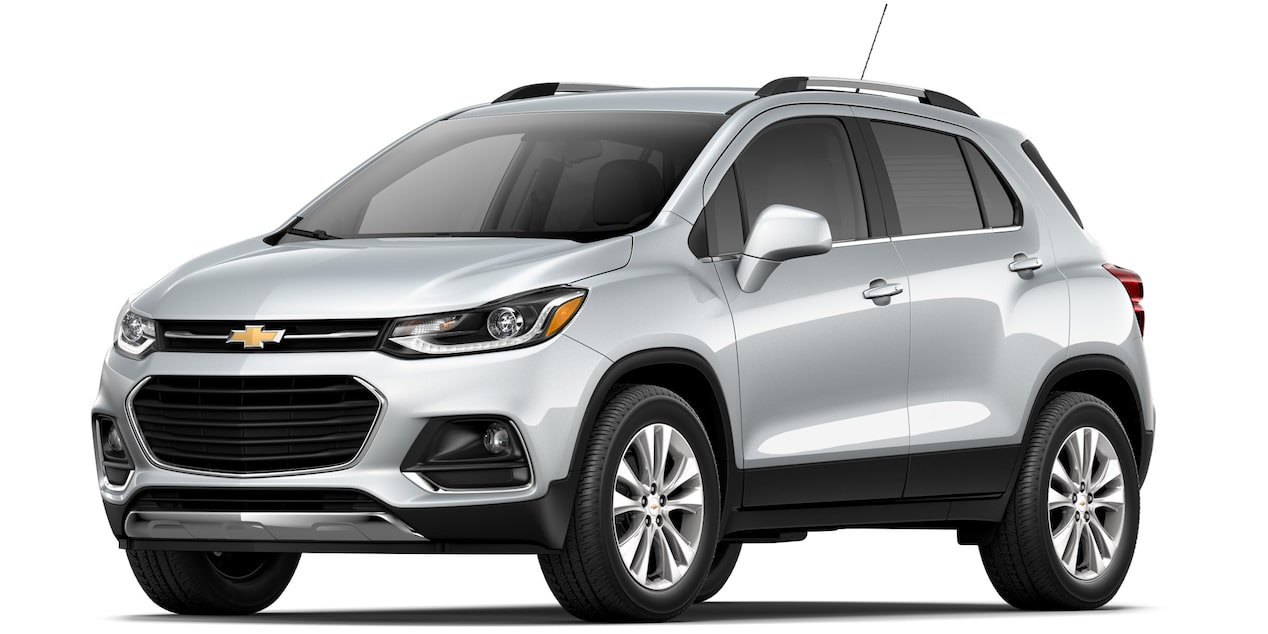 Camioneta Chevrolet Trax 2019 color plata brillante